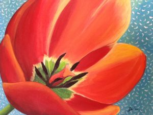 Orange Tulip 4/30 @ The Tipsy Paintbrush | Matthews | North Carolina | United States