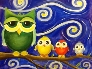 Four Little Owls