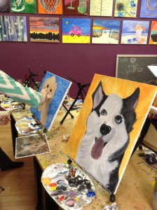 Paint your Pet Night 4/22 @ The Tipsy Paintbrush | Matthews | North Carolina | United States