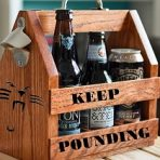 Beer Caddy – Completely Customizable